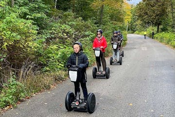 Fish Creek Segway Tour on Country Roads