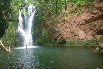 A waterfall in Spain
