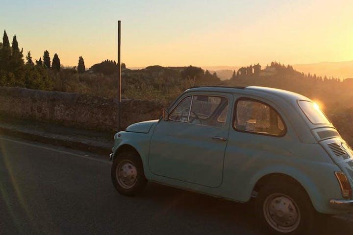 Fiat 500 Florence Tour