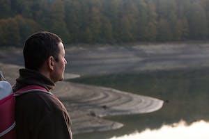 Meditando en la paz de la Selva de Irati