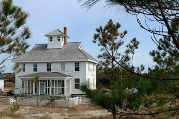 cape lookout village house