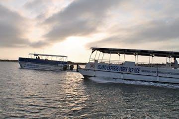 island express ferries in water