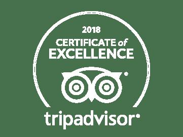 2018 TripAdvisor badge