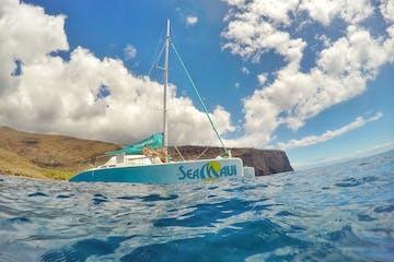 Sea maui boat in water