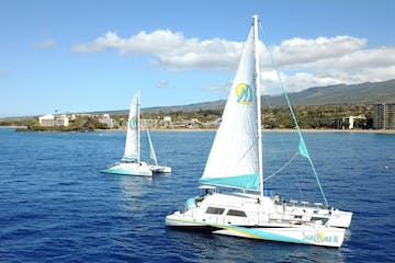 two catamarans in maui