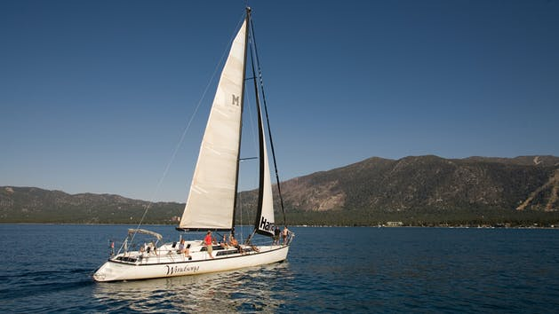 Windsong Sailing Yacht Tour in Lake Tahoe