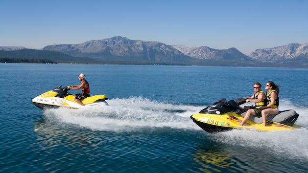 Sea-Doo GTI Rental in Lake Tahoe