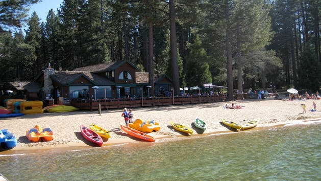 Kayak and Pedal Boat Rentals in Lake Tahoe