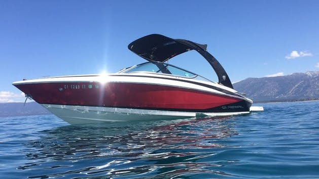 23' Regal Boat Rental on Lake Tahoe