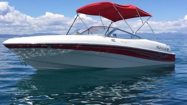 18' Four Winns Boat Rental   Action Watersports