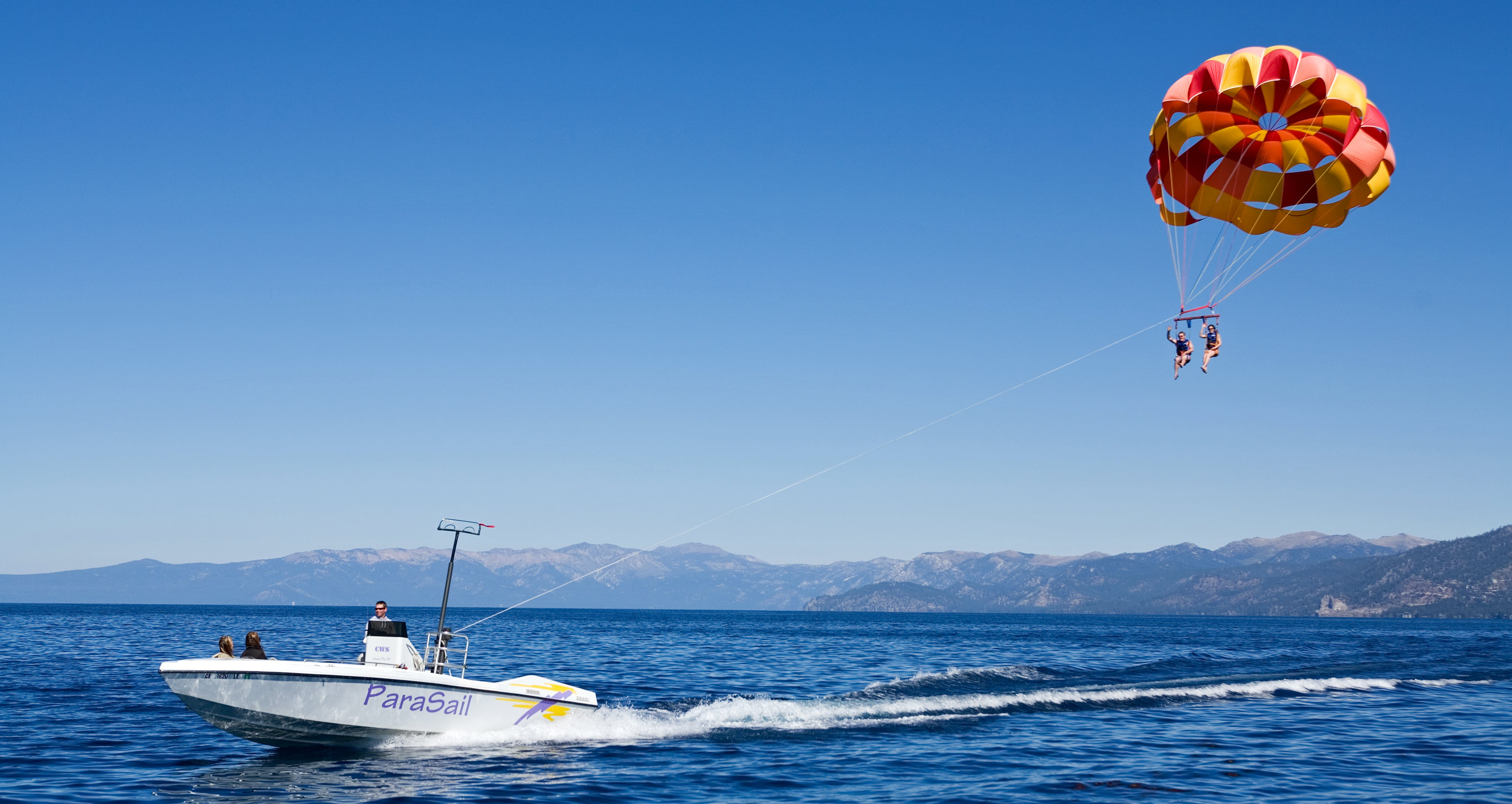 an emotional experience of parasailing in south lake tahoe Arie takes romance to new heights as he and a thrilled bachelorette go parasailing on lake tahoe  south lake tahoe,  bachelor 22 - arie luyendyk jr - sm media.