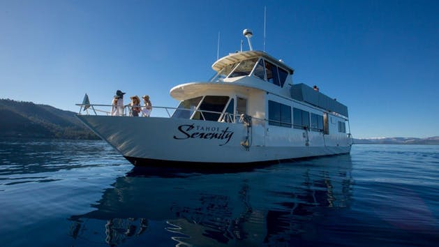 Tahoe Serenity Yacht Cruise Action Watersports