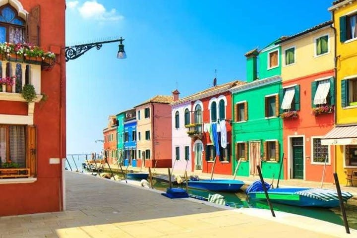 the islands of Murano & Burano