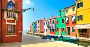 the islands of Murano & Burano