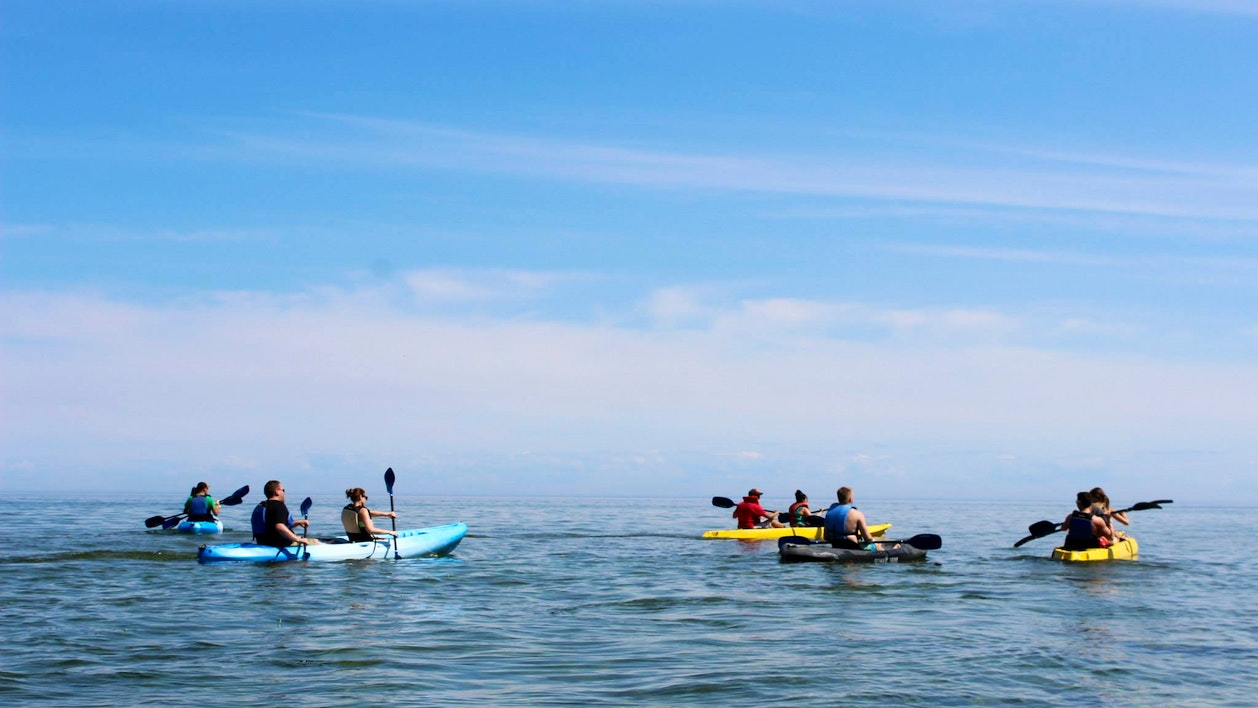 Lake Michigan Kayak Tours