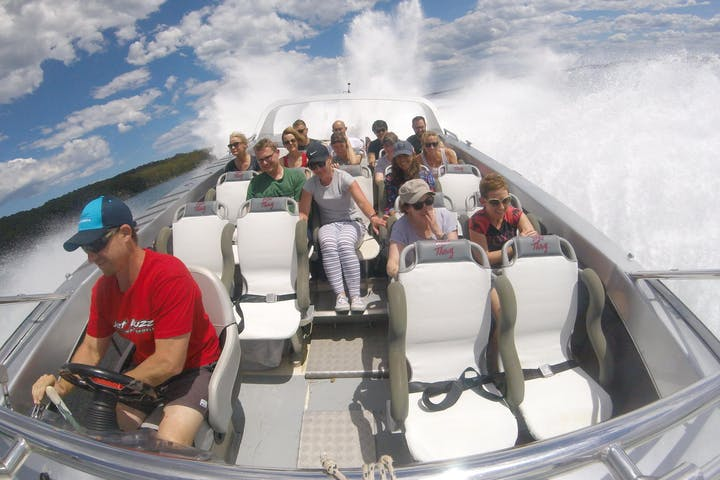 Jet Boat Lake Thrill Ride