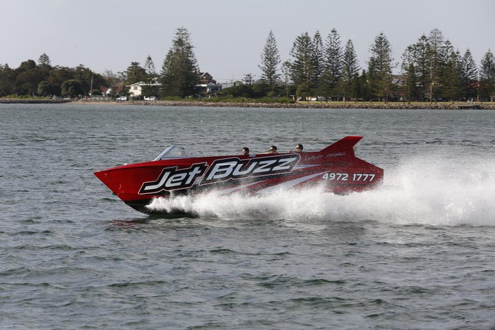 Jet Boat Ocean Extreme