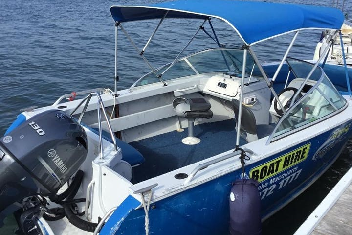 4 Hour Bowrider Sports Boat Hire
