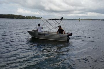 4 Hour Tinny Boat Hire
