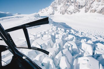 Snow blocks in mt cook