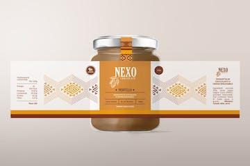 Crema spalmabile alla nocciola Nexotella, origine Cuzco