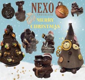 Soggetti di Natale artigianali Nexo Chocolate