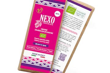 Tavoletta di cioccolato Nexo Chocolate monorigine Ecuador