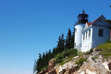 Lighthouse on Mt Desert Island, Maine