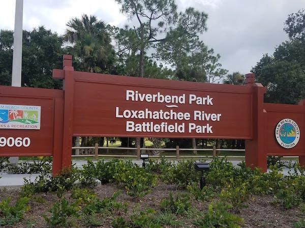 Loxahatchee River at Riverbend Park