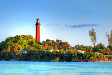 Lighthouse in Jupiter, FL