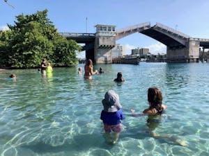 camp kids swimming at JILONA