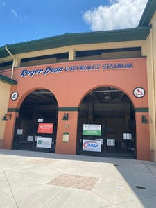 Roger Dean Chevrolet Stadium, with 7,000 seats, is a fun way to catch a game.
