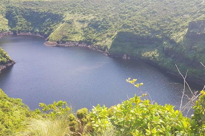 A big lake in nature