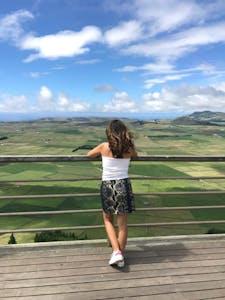 Sónia Ell - Miradouro ilha Terceira