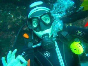 Sónia Ell - mergulho Açores