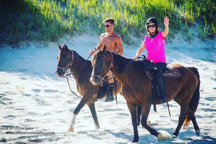 Outer Banks & Nags Head Beach Horseback Riding Tours   VBH