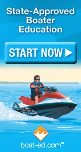 Take the Boater's Safety Test online in advance!