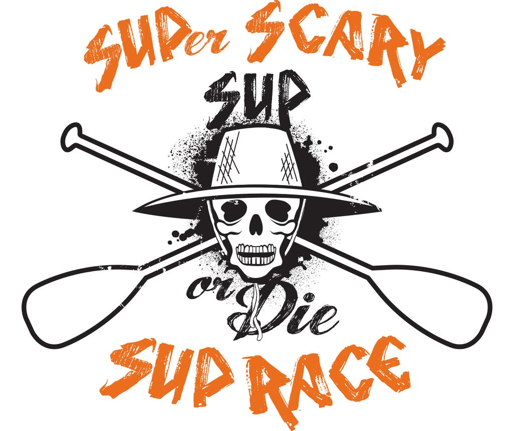 SUPer Scary SUP race