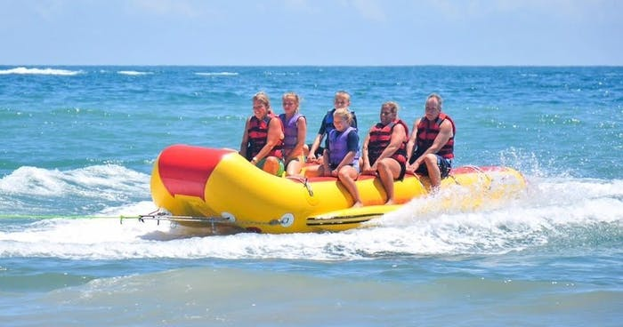Banana Boat In Myrtle Beach Downwind