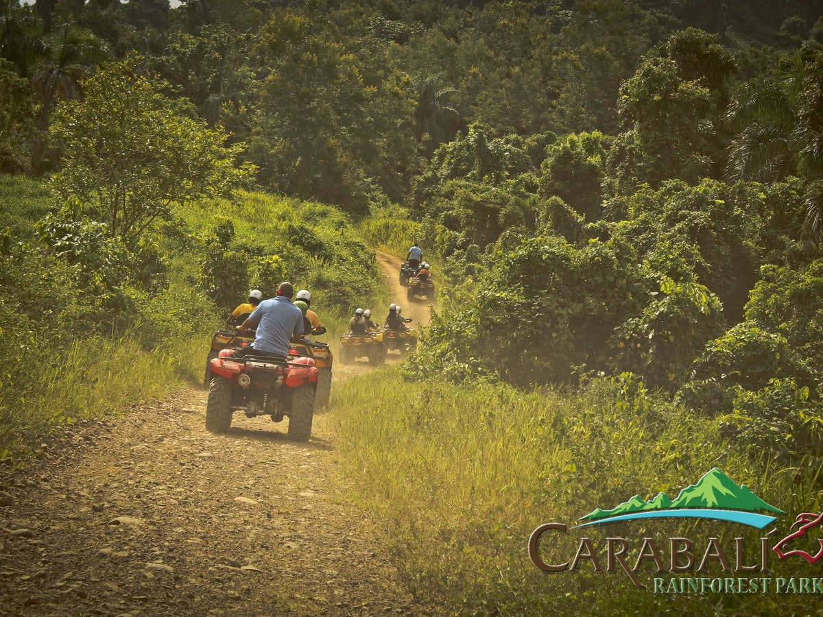 Atv Puerto Rico Carabali Rainforest Adventure Park