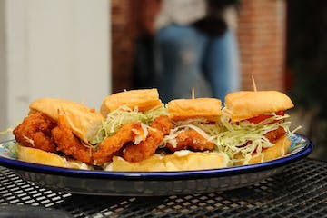 Chicken Sandwiches on a plate