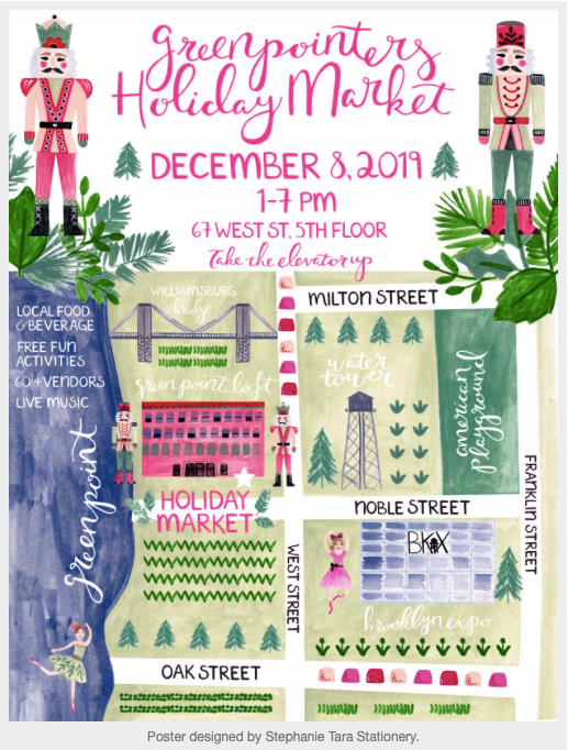 Greenpoint Brooklyn Holiday Market