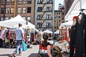 Chelsea Flea Market NYC
