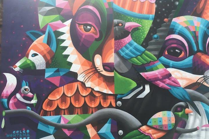 Street graffiti in New York City