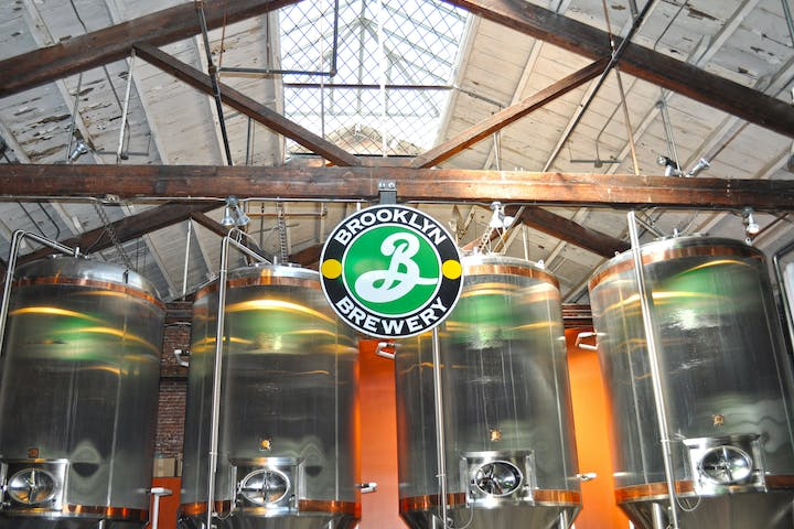 Brewery towers and equipment