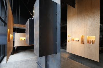modern styled art shop