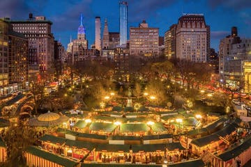 NYC Holiday Market - Union Square