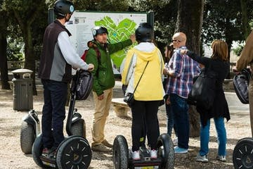 Segway Tour listening the guide