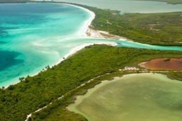 Holbox Island aerial view