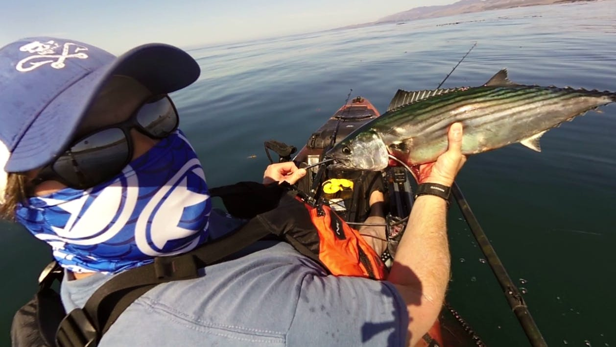 Guided kayak fishing central coast kayaks for Central coast kayak fishing